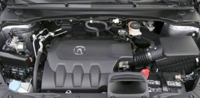 2020 Acura RLX engine