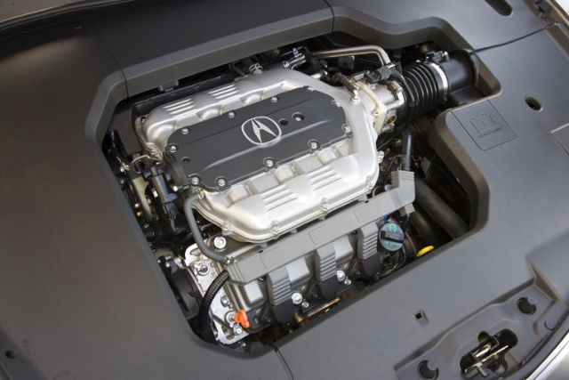 2020 Acura TLX Type-S engine