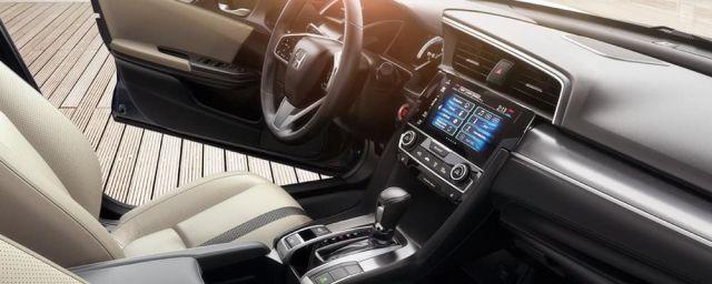 2020 Honda Civic SI interior