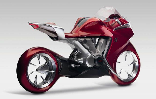 Honda V4 rear
