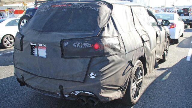 2020 Acura MDX Type-S rear