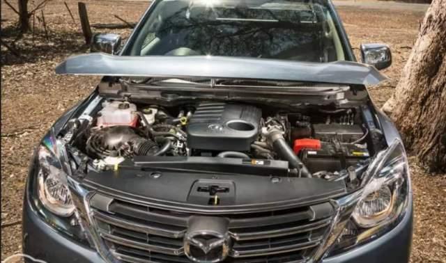 2020 Mazda BT-50 engine