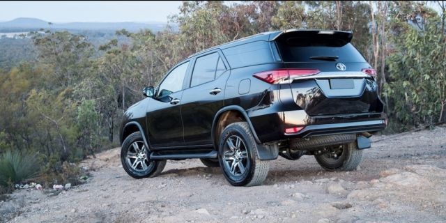 2020 Toyota Fortuner rear