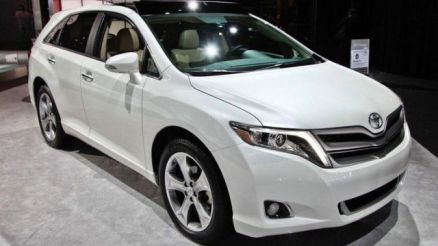 2020 Toyota Venza front