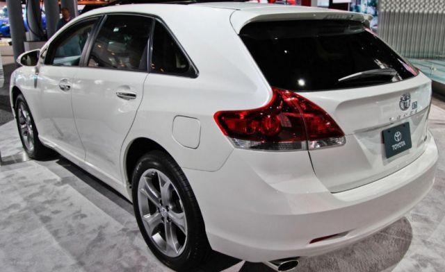 2020 Toyota Venza rear