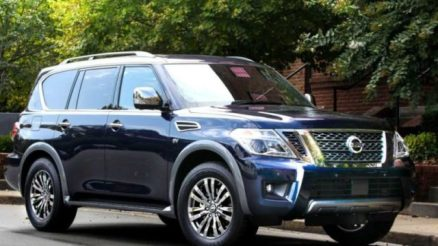 2020 Nissan Armada front