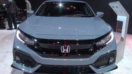 2020 Honda Civic Sport Touring front