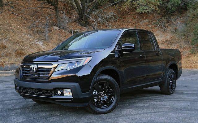 2020 Honda Ridgeline Black Edition front