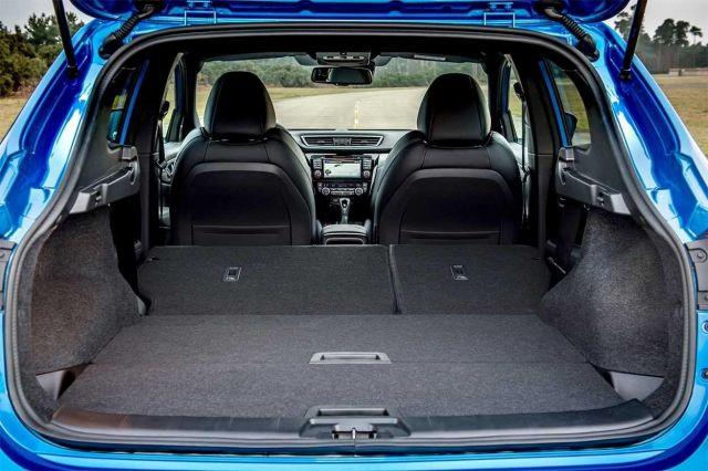 2020 Nissan Qashqai trunk