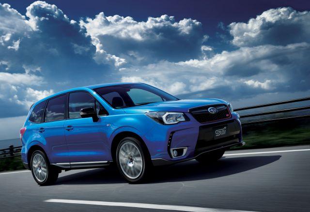 2020 Subaru Forester STI side