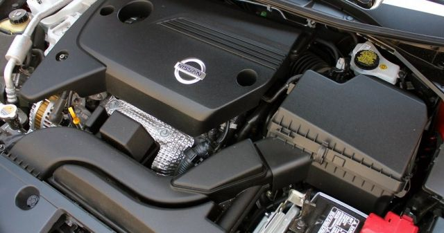 2020 Nissan Maxima Platinum engine