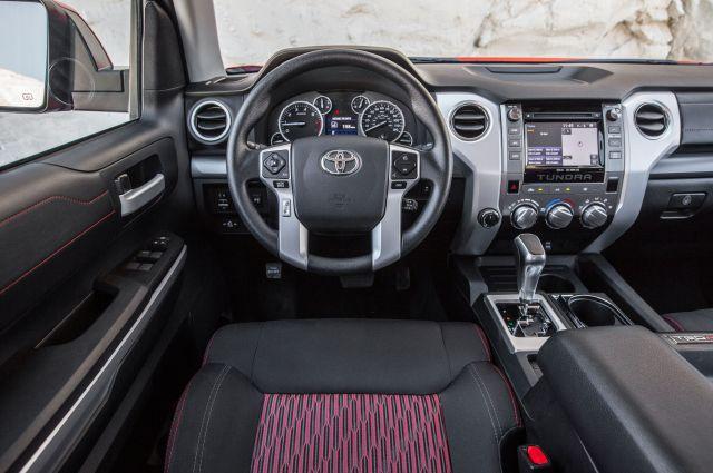 2020 Toyota Tundra TRD Pro cabin