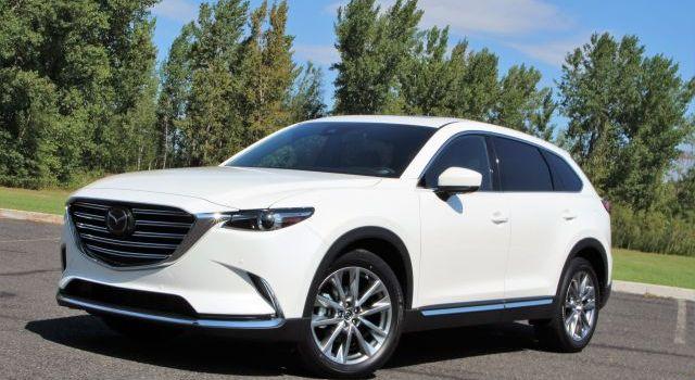 2020 Mazda CX-9 Front