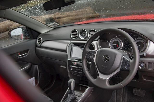 2020 Suzuki Grand Vitara interior