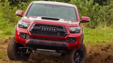 2020 Toyota Tacoma Diesel front