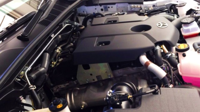 2021 Toyota Hilux engine