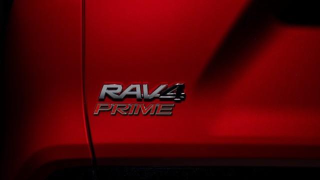 2021 Toyota RAV4 Prime exterior