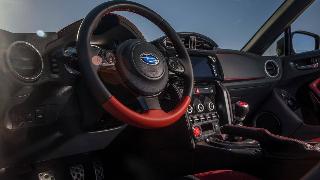 2021 Subaru BRZ tS interior