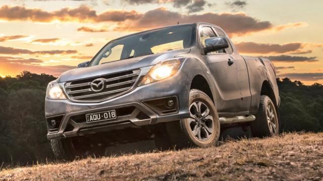 2021 Mazda BT-50 facelift