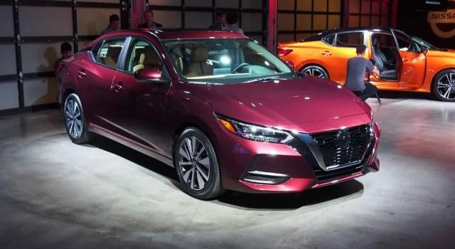 2021 Nissan Sentra redesign