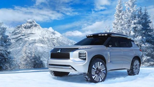 2021 Mitsubishi Outlander PHEV concept