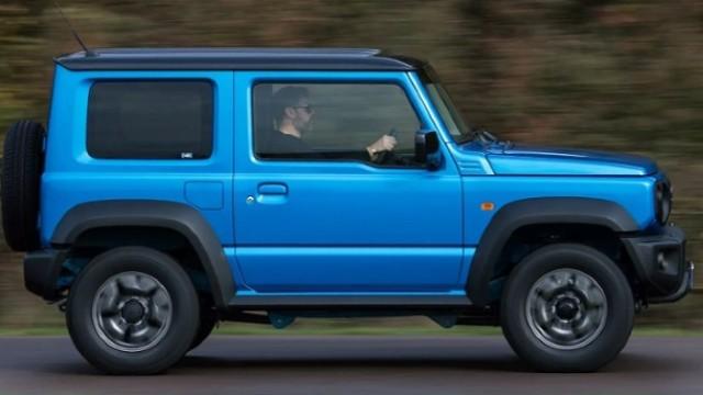 2021 Suzuki Jimny side