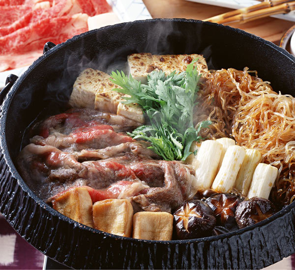 Fondue sukiyaki Recette - Japan Centre