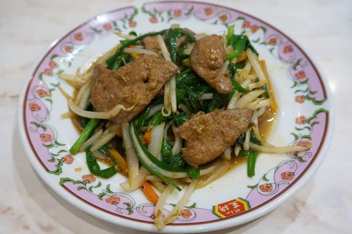 Gyoza OHSHO 餃子の王将 Sauteed Pork Liver and Garlic Chives ニラレバ炒め