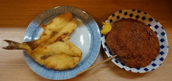 Banpaiya 晩杯屋 Deep fried blow (puffer) fish ふぐから揚げ