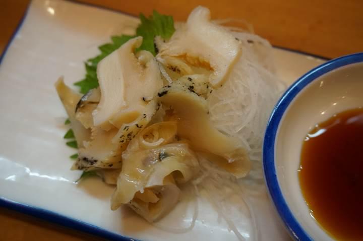 Banpaiya 晩杯屋 Whelk sashimi つぶ貝刺し