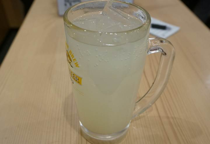 Banpaiya 晩杯屋 Yuzu citron mixed with shochu 生ゆずハイ