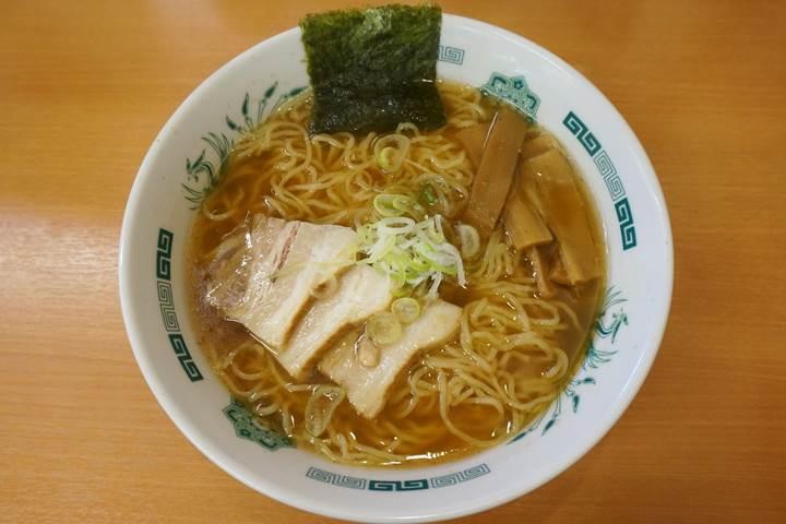 HIDAKAYA Shoyu Ramen 日高屋 中華そば