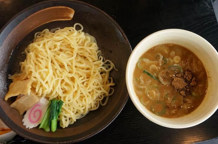 Rich seafood noodle 1.5 濃厚魚介つけめん1.5 Kourakuen 幸楽苑