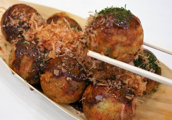 Octopus Dumplings たこ焼き Takoyaki