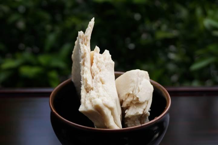 Japanese sake lees 酒粕 Sakekasu