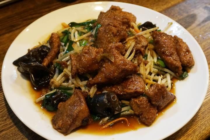 レバニラ炒め定食 - kei楽 / Sauteed Pork Liver & Chive Set Meal - keiraku