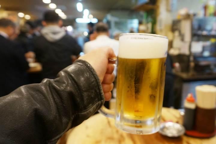 Standing Bar 立飲みたきおか Tachinomi-Takioka in Ueno 上野