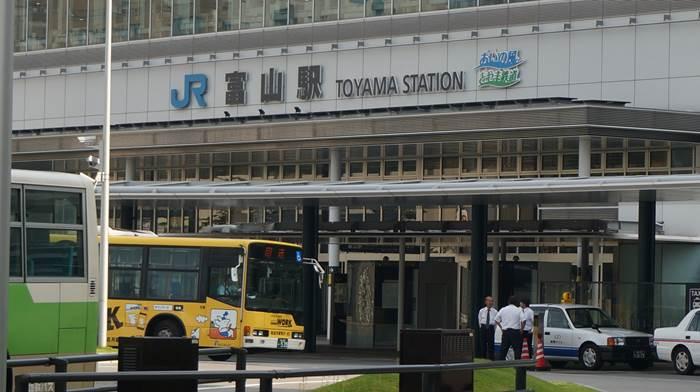 JR Toyama Station 富山駅