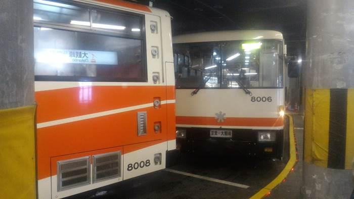 Tateyama Tunnel Trolley Bus 立山トンネルトロリーバス