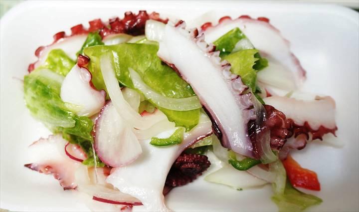 Marinated Octopus たこのマリネ - とりふじ Torifuji 三ノ輪 Minowa