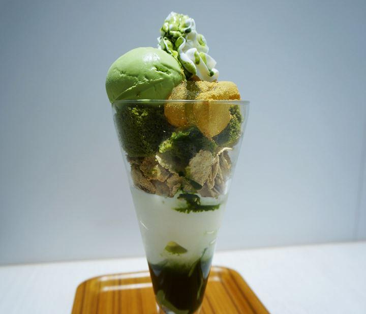 抹茶パフェ Matcha Parfait - ナナズグリーンティー nana's green tea