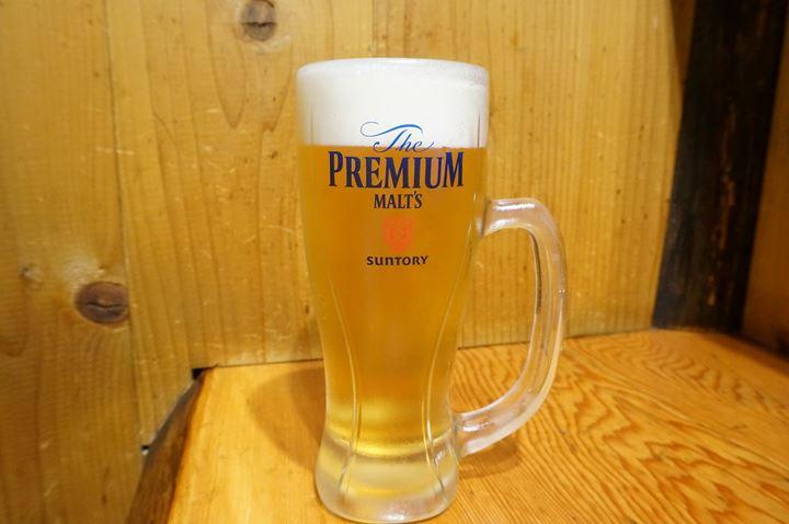 Torikizoku 鳥貴族 PREMIUM MALT'S - Suntory Beer サントリー ビール