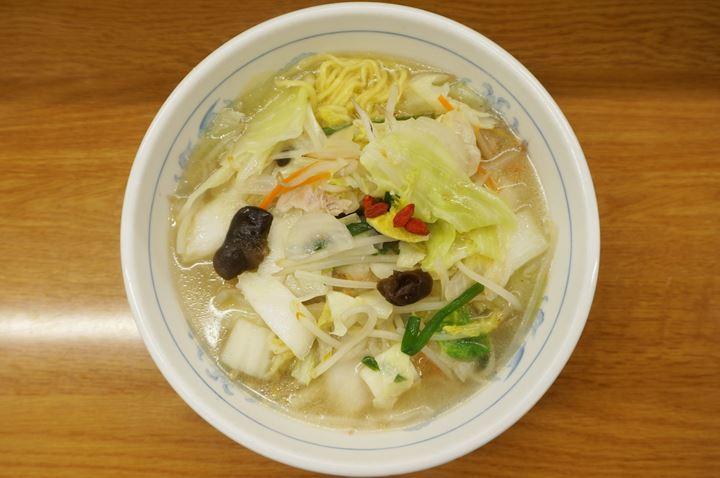Vegetable Ramen 国産野菜タンメン - Fukushin 福しん
