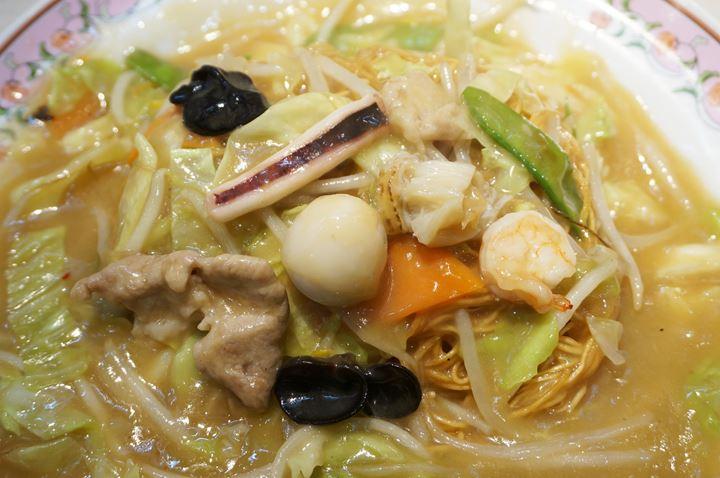 Gyoza OHSHO 餃子の王将 - Deep Fried Noodles 揚げそば (皿うどん)