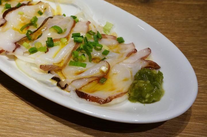 Fresh Octopus Carpaccio 北海道産生タコのカルパッチョ - PRONTO プロント