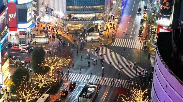 Shibuya 渋谷 Crossing - TOKYU PLAZA 東急プラザ