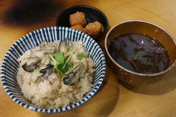 Lunch Menu - Oyster Izakaya Restaurant TOBIUME かき小屋 飛梅 神田西口店 ランチ かき飯セット