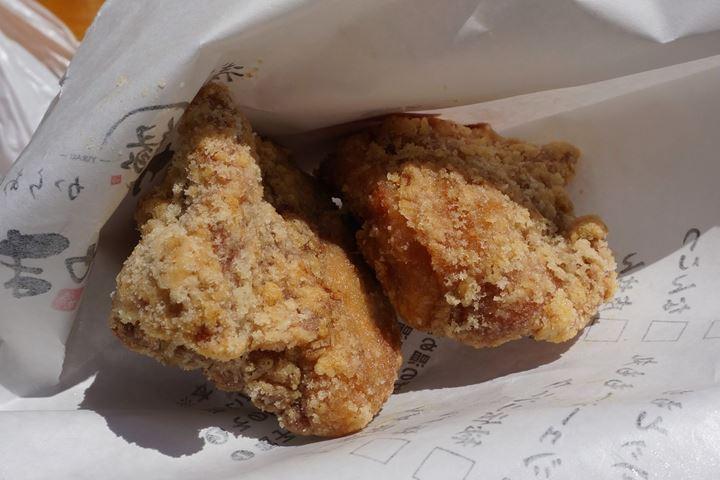 Deep Fried Garlic Chicken 秘伝ニンニク - Karaage YUKARI からあげ 緑