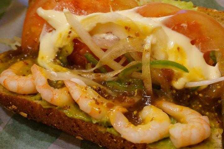 Shrimp & Avocado えびアボカド SUBWAY サブウェイ