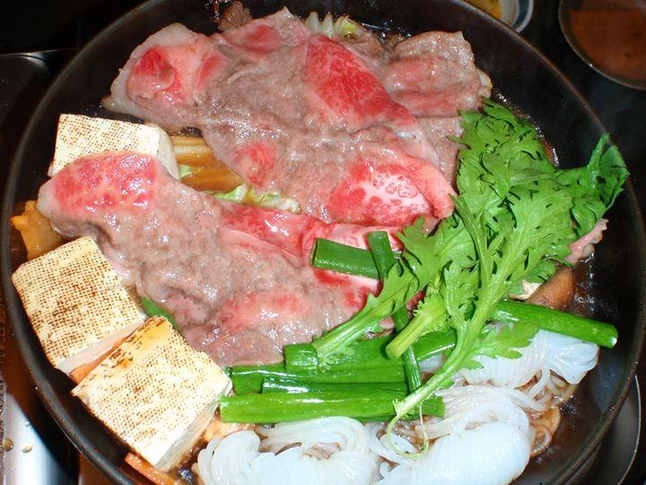 Kobe Beef Sukiyaki 神戸牛 すき焼き - GYU-AN 牛庵